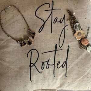 Two stylish necklaces
